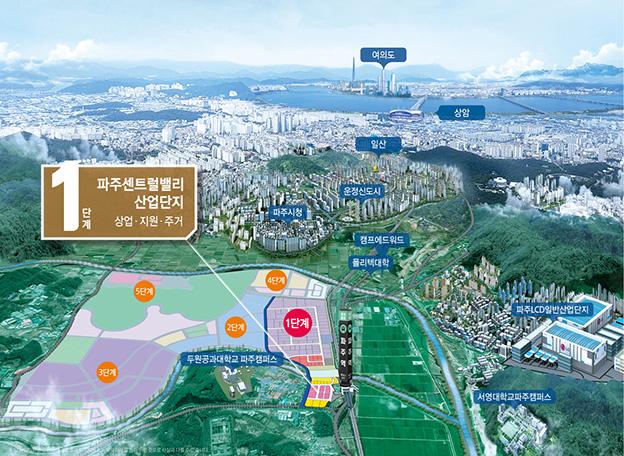 <분양>-남북경협사업의 최대 수혜지··· 파주센트럴밸리 '주목'