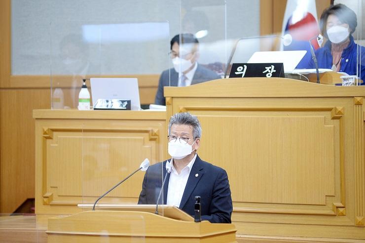 안명규 시의원, 코로나19 접종방식·이동수단, 사후관리에 대한 제안