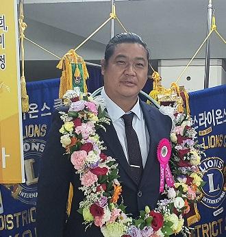 통일라이온스클럽 권순오L. 지역부총재 취임